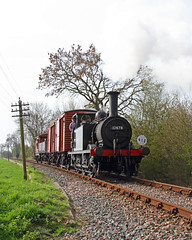 Branch Line Goods (Treflyn) Tags: heritage train sussex photo kent branch events rail railway loco photographic goods steam line east terrier short timeline locomotive local a1 preserved freight charter kesr rolvenden lbscr 32678 060t a1x