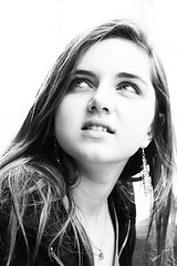 """Elle"" (Herebuse) Tags: portrait nb visage"