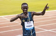 Kemboi (Dune_UK) Tags: me gold for athletics track posing diamond east winner middle meet league ezekiel doha qatar steeplechase kemboi
