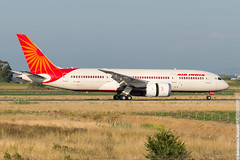 Air India B788 VT-ANM (TonyVillage) Tags: italy rome roma airport nikon italia aircraft aeroporto planes boeing spotting fiumicino airindia fco 787 spotters d600 lirf