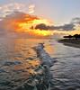Sunrise, Dominican Republic style. (Adrian Walker.) Tags: seascape sunrise elements canonsx20is