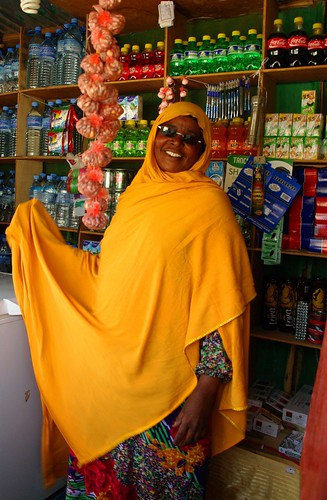 A woman in her shop in Borama, Somaliland