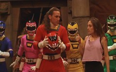 Tommy the Red Ranger (Guardian Screen Images) Tags: red jason david movie frank is ranger oliver power no helmet super tights tommy turbo hero superhero 1997 heroes superheroes tight rangers spandex lycra the helmetless a