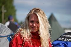 Vilja Peltoniemi suunnisti KPV I 3-osuuden