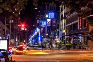 Friday Night in Yaletown ~ Vancouver, BC