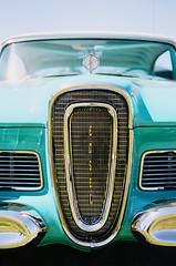 Edsel (FilmFlamMan) Tags: california ford film classiccar kodak carshow thousandoaks proimage100 contaxrx yashicaml50mm19