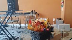 Goodies in the studio