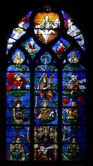 glise Saint-tienne de Beauvais. (Dirk vdE) Tags: france harp glise kerk lute fra picardie beauvais luth harpe shawm