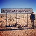 We crossed the Tropic of Capricorn in Namibia