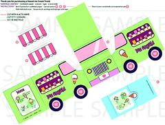 Ice Cream Cup Design Template Ice Cream Truck Template Fifa