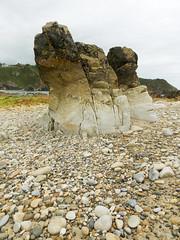 Playa de Ami (Rubn Daz Caviedes) Tags: sea espaa beach mar spain rocks stones playa roca cantabria piedras bayofbiscay marcantbrico pechn