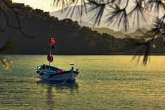 Silence (Baki Karacay) Tags: sea nature water turkey landscape boat peace natural antalya silence waterscape sescape