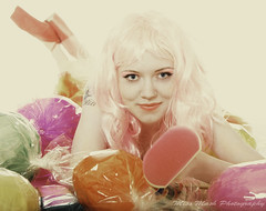Candyland3 (sebthedog1) Tags: pink colour candy pastel lolly wig sweets