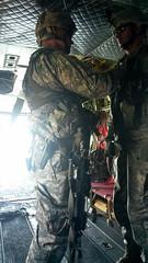 20140607-Z-Clark-06 (New York National Guard) Tags: 3rdbattalion det1 2ndbattalion senecaarmydepot nysoldiersofdeltacompany 108thinfantryfromithaca hadtheuniqueopportunitytotrainwithtwoch47chinookhelicoptersandtheircrewsfrombravocompany 126thaviationoutofrochesterthetrainingtookplaceatsenecaarmydepotlocatedintheheartofthefingerlakesbetweensenecaandcayugalakesnewlytrainedpathfinderandairassaultsoldierstrainedthecompanyonhowtoslingloadthecodup theflightcrewsverifiedtheloadsandgaverehearsalsfortheloadingandunloadingtheaircrafteachofthetrainedhookupcrewsrotatedthroughhookingtheslingloadsupandthechinooksflewashortpatternwiththe5 000lbsand12 000lbshumveeseachofthefourassaultplatoonsincodwereflownaroundcanandaiguaandkeukalakeswhileaboardthehelicoptercaptclarkwasabletopromotespcjoshuameriwethertosergeant