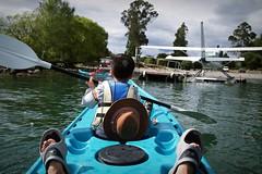 080202 paupo 6 (dam.dong) Tags: new travel family lake beach me jin olympus zealand campground campervan e500 papamoa paupo