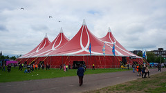 Tent stage (Nik Bucci) Tags: life uk party summer people music color bicycle festival electric club night radio lights 1 scotland big concert dancing coldplay weekend live crowd performance scottish august calvin bbc bombay british harris tone galsgow