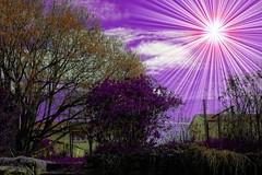 Lever du soleil sur P3X457 (domiloui) Tags: clouds composition ciel technique couleur insolite ambiance abstrait cooliris abaucourt blinkagain