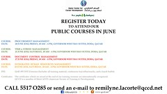 June - Public Courses - QCCD - FB Final Final (Qatar's leading soft-skills training company!) Tags: family building english public training writing project for 1 marketing al search team soft gallery control dr group royal skills center foundation professional communication business international management human document coaching language hr secretary certificates placement manager executive development majed trainer maryam consulting doha qatar resources courses career pari teambuilding consultancy manpower administrative chandna shaukat secretarial sheikha managerial hsse softskills qapco