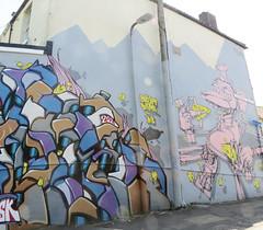 cowmead (Kalense Kid) Tags: streetart cheese bristol mouse graffiti mechanical