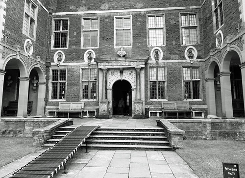 Ham House main entrance