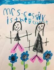 Teacher's Pay (Kathy Cassidy) Tags: teacher studentwork