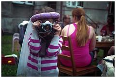 *** :) (Spartaxus) Tags: camera girl photographer princess pentax olympus 35rc rossman