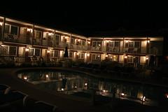 Colton Court Motor Inn, Cape May, NJ (Tim Loesch) Tags: ocean beach night newjersey shot nightshot nj capemay jerseyshore