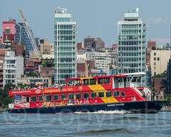 ROBERT FULTON Sightseeing Boat on the Hudson River, New York City (jag9889) Tags: nyc newyorkcity usa ny newyork architecture river boat newjersey kayak ship unitedstates manhattan unitedstatesofamerica sightseeing westvillage vessel kayaking transportation highrise hudsonriver richardmeier paddling hoboken lowermanhattan waterway kayaker 2014 northriver jag9889 20140721