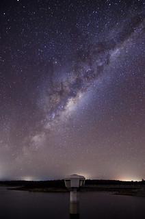 Milky Way Rising - North Dandalup Dam