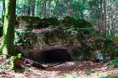 Rock Formation (Bephep2010) Tags: rock schweiz switzerland forrest path sony formation alpha wald 77 solothurn megalith felsen felsformation slta77v sal1650f28 feldbrunnenstniklaus megalithweg