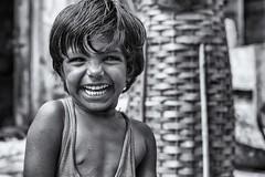 a big smile... Udaipur - Rajasthan - India (fabio6065) Tags: portrait bw india smile blackwhite nikon bn railways ritratti ritratto biancoenero rajasthan indu