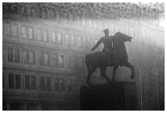 *** (Spartaxus) Tags: bw statue kodak tmax katowice silesia pomnik piłsudzki