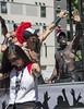 "Vancouver Pride Parade 2014 - 0279 (gherringer) Tags: summer music canada sunglasses vancouver fun happy bc dancing pride parade colourful trojan vanpride ""west end"""