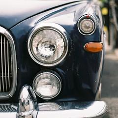 Rover PB5 3 litre (Chi Bellami) Tags: colour slr film 35mm nikon automobile rover scan negative scanned fujifilm f80 c200 fujicolor c41 pb5 chibellami