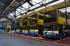Dublin Bus VG45 09-D-2139 - AV109 00-D-70109 - AV267 02-D-20267 & EV45 07-D-30045 - AV425 05-D-10425 - AV395 04-D-20395 - AV337 03-D-50337 - AV340 03-D-50340 (Will Swain) Tags: city travel ireland dublin bus buses june garage south capital transport southern depot seen 22nd 2014 summerhill av340 ev45 bus' vg45 09d2139 av395 04d20395 av425 07d30045 av109 00d70109 02d20267 03d50337 av337 av267 05d10425 03d50340
