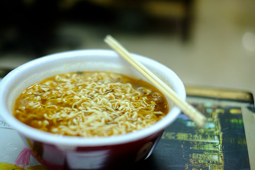 Wei Wei Premium Beef Instant Noodles by Daniel Y. Go, on Flickr