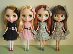 Blythe birthday party dresses
