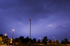 July 7th 2014 Lightning (BenWestPhotography) Tags: storm weather night canon colorado raw denver co 1750 dxo lightning dslr tamron lowry tamron1750f28 40d tamronspaf1750mmf28xrdiiildasphericalif canon40d lowryairforcebase