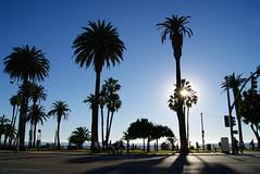 Santa Monica Ocean Front, Los Angeles (K1_Camz) Tags: california street travel blue sky usa sun america losangeles unitedstates santamonica unitedstatesofamerica sunny oceanfront etatsunis