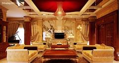 Thiết kế nội thất phòng khách tân cổ điển_015