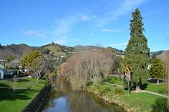 Nelson city et son canal
