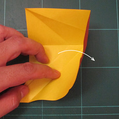 การพับกระดาษเป็นรูปปลาคาร์ฟ (Origami Koi Fish) 012