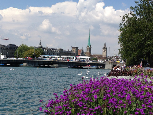 Zurich from Zurichsee Promenade July 2014 - 5