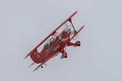 Will Allen, the Flying Tenor, in his Pitts S-2B (Norman Graf) Tags: plane airplane flying aircraft airshow biplane s2 aerobatics tenor the pitts davismonthanafb pittsspecial s2b willallen theflyingtenor n12qw 2014thunderlightningoverarizona
