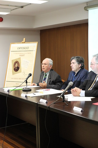 Presentació del Fons Yxart: Conferència de Salvador Rovira