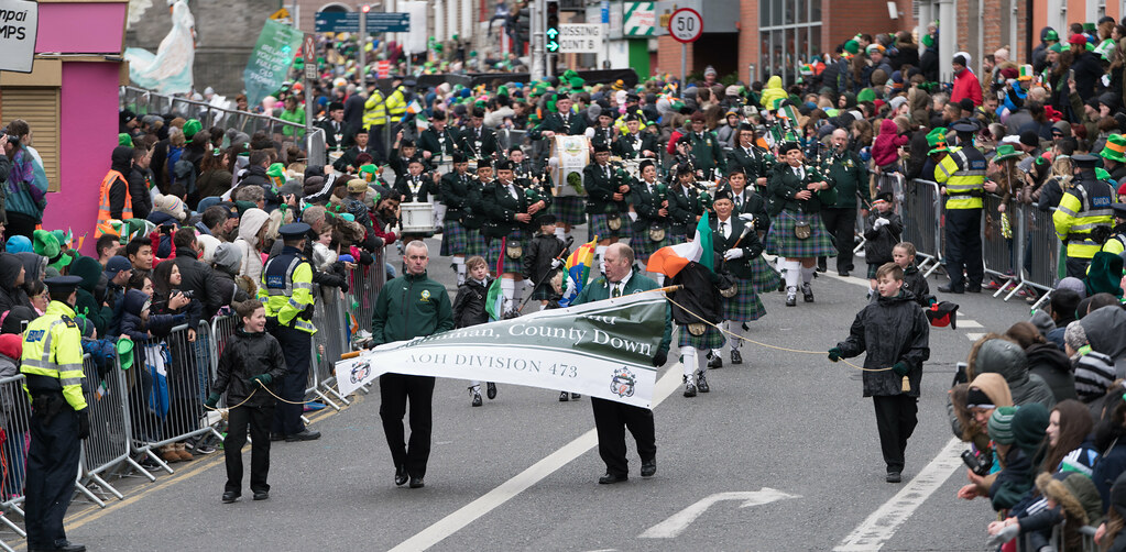 St. Joseph's Pipe Band From Glasdrumma [St. Patricks Day Parade 2017]-125890