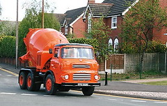 Albion Reiver Mixer Cheshire Run 2007 Frank Hilton _1 (Frank Hilton.) Tags: classic truck lorry eight wheel maudsley aec atkinson albion leyalnd bristol austin outside heavy haulage crane 8 axle