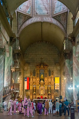 Basilica menor (leoleamunoz) Tags: iglesia church arquitectura street calle interior chile architecture urban urbano religiosa religion religious patrimonio history