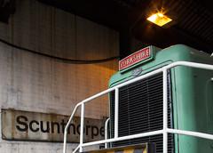 Yorkshire in Lincolnshire. (Dave McDigital) Tags: yorkshireengine janus applebyfrodingham industrialrailway industriallocomotive scunthorpe steelworks britishsteel