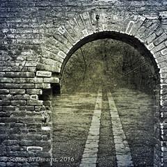 16500339079_89d773c646_o.jpg (scenesindreams) Tags: portal abandoned road urbanexploration digitalart blended doorway entrance unrbanex